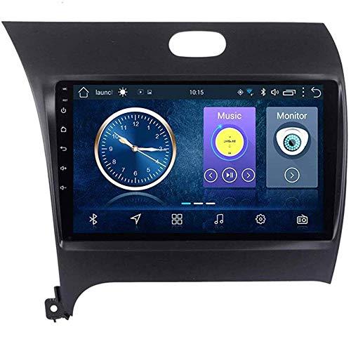 Android 8.1 Navegación Radio TV GPS pantalla táctil de 9 pulgadas para Kia K3 2013-2017, con DAB CD DVD control del volante Bluetooth USB AUX Mirror Link,4G + WiFi:2+32G Plug2