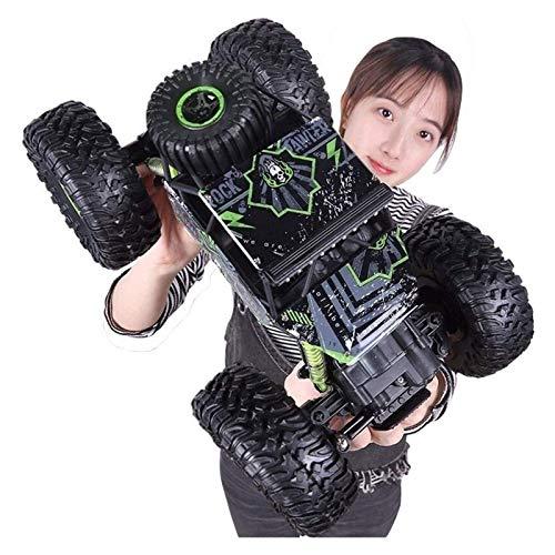 RC coche 1:18 Pie grande 4WD Off-Road Vehicle Charging Electric Toy Racing Car 2.4G Control remoto Roca Escalada Coche Para Niños Adultos Andales Para Niños Niños Niñas Cumpleaños Cumpleaños Aficiones