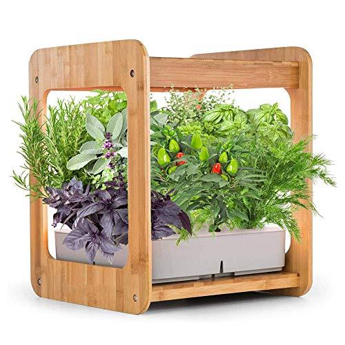 ZDYLM-Y Hydroponische Anzuchtsysteme mit automatischem Timer, Smart Indoor Garten mit Erinnerung an Wassermangel, Beleuchtungssystem