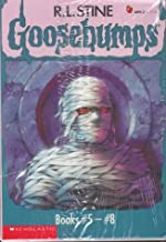 By R. L. Stine Goosebumps Boxed Set, Books 5 - 8: The Curse of the Mummy's Tomb, Let's Get Invisible!, Night of th [Paperb...