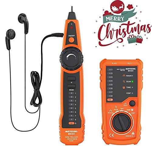 Meterk Wire RJ45 Line, Tracker RJ11, Cable Tester, Finder Handheld,