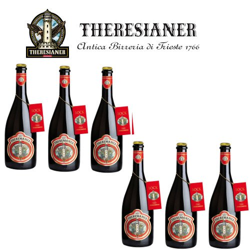 Bock non filtrata Theresianer Italienisches ungefiltertes Bier (6 flaschen 75 cl.)