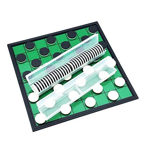 Schaken Dammen en Backgammon 64 stuks Hot Magnetische Portable Folding Reversi Othello Schaken Standard Educatieve Thuis Parent-kinderen Checkers familie bordspellen zhihao