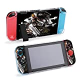 SUPNON Switch Case Compatible with Nintendo Switch Games Protective Hard Carrying Cover Case for Nintendo Switch Console Joy Con Controlle - Graffiti Character Monkey with Holding A Design30760