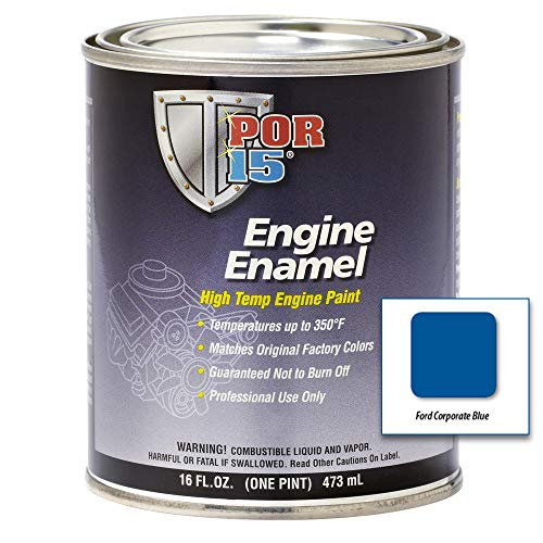 POR-15 42048 Ford Corporate Blue Engine Enamel - 1 pint