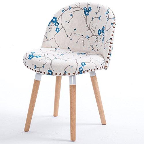 Chaise en bois à manger chaise chaise de café chaise de bureau arrière ordinateur moderne d'apprentissage chaise chaise adulte chaise de bureau confort sédentaire n'est pas fatigué (Color : #a)