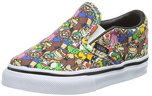 Vans Classic Slip-On (Nintendo) Super Mario Bros VN000ZCRK5A Toddler Size 5.5