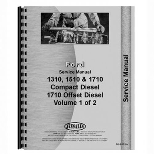 ford 1710 service manual - 7