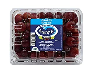 Ocean Spray, Seedless Red Grapes, 2lb