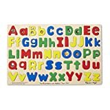 Melissa & Doug Upper & Lower Case Alphabet Puzzle