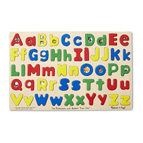 Melissa Doug Upper and Lower Case Alphabet Puzzle