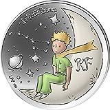 Little Prince Moon Principito 75 Aniversario Moneda Plata 10€ France 2021