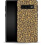Premium - Carcasa para Samsung Galaxy S10 Plus, diseño de Leopardo