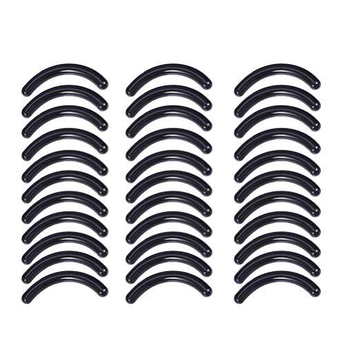 Lurrose 50pcs tampons de rechange noirs pour tampons en caoutchouc lavables