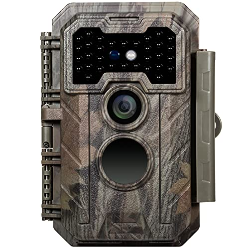 game cams GardePro Trail Camera 20MP 1080P Game Camera with H.264 Video 90ft Night Vision Motion Activated IP66 Waterproof for Outdoor Wildlife Scouting Hunting and Property Security