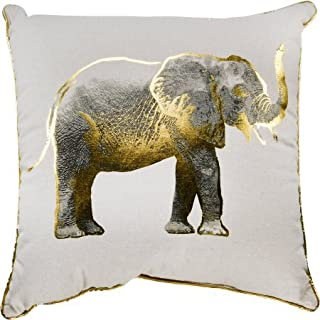 Pillow With Gold Elephant 18