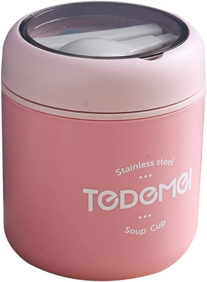 Great interest Max 55% OFF DOITOOL 530ml Insulated Food Jar Lunch Soup Container Box Bento