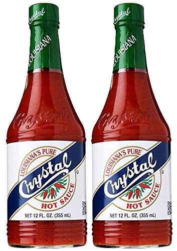 Crystal Pure Hot Sauce 6 oz to Crystal Pure Hot Sauce 12 oz 2 Pack