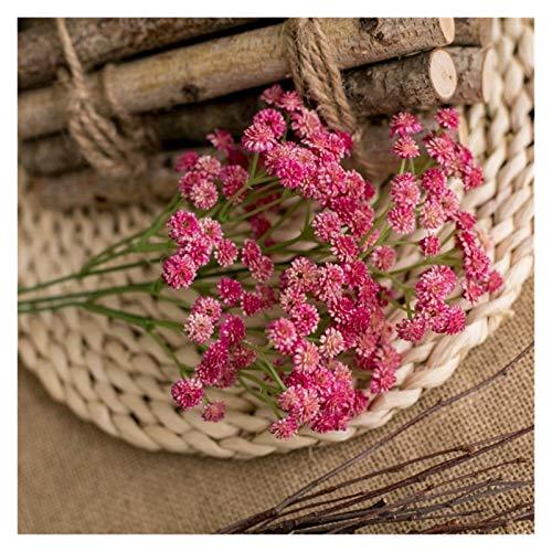 XIAOXUANMY Kunstblumen 135 köpfe/Lot Künstliche Blume Bouquet Für Home Hochzeit Dekoration Kunststoff Gefälschte Blumen Party Festival Lieferungen Dekoration (Farbe : Rose)