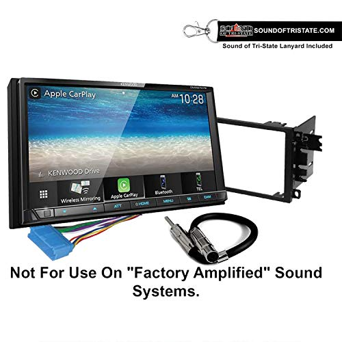 Kenwood DMX9707S Digital Multimedia Receiver + Install kit 1995-2004 Buick Regal,1997-2005 Century + Sound of Tri-State Lanyard Bundle