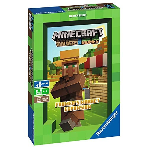 Ravensburger Minecraft Farmer's Market Expansion - Versión española, Light Strategy Game, 2-4...