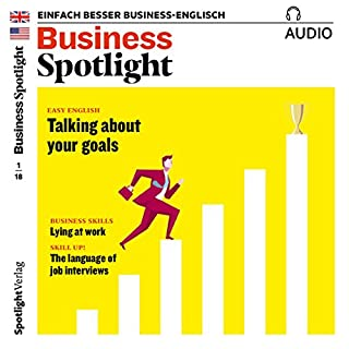 Business Spotlight Audio - Lying at work. 1/2018 Titelbild