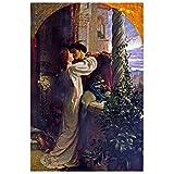 Posters Romeo Und Julia Leinwand Malerei An Der Wand Poster