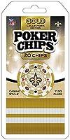MasterPieces NFL New Orleans Saints 20-Piece Poker Chips