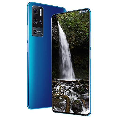 AYZE Android 10 Smartphone 4ram, Pantalla De 7', CáMara De 24-48Mp, Liberación De Huellas Dactilares/Rostro, Batería De 5500mAh, Tarjeta Dual+Memoria Extendida,TeléFono MóVil 4g 128GB 2