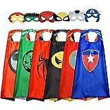 TISY Halloween Maske Superhelden Kostüm, Spielzeug Junge 3 4 5 6-12 Jahre Weihnachtsgeschenk für...