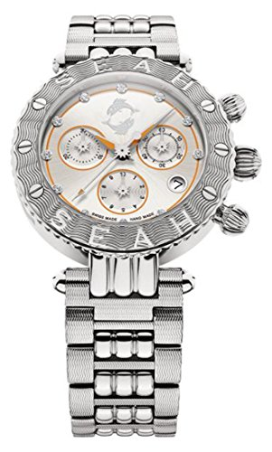 SEAH Galaxy símbolo del signo Piscis edición limitada 38mm 316L acero inoxidable Swiss Made reloj de lujo.