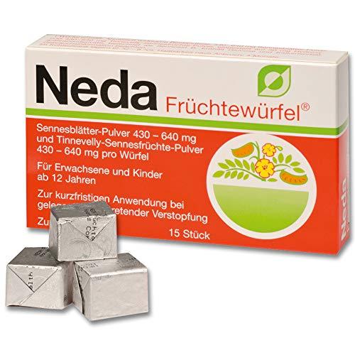 TRUW NEDA Früchtewürfel - 15 St Würfel 00707308