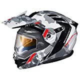 Scorpion AT950 Helmet - Outrigger with Electric Shield (X-Large) (White/Grey)