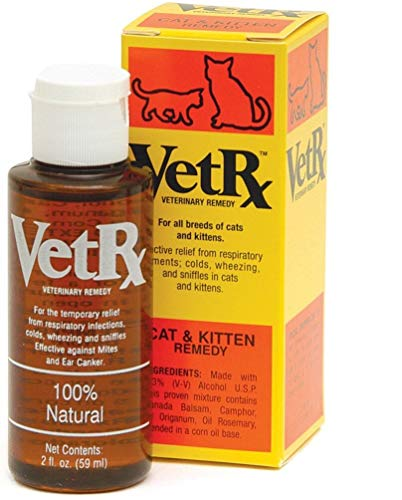 VetRx Sneezing Cold Cough and Allergies for Cat & Kitten (2 oz)