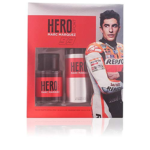 HERO Sport pack Marc Marquéz colonia 100 ml + desodorante 1