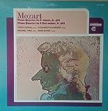 Mozart Piano Quartets - K. 478 in G Minor / K. 493 in E Flat Peter Serkin, Piano, Alexander Schneider, Violin, Michael Tree, Viola, David Soyer, Cello