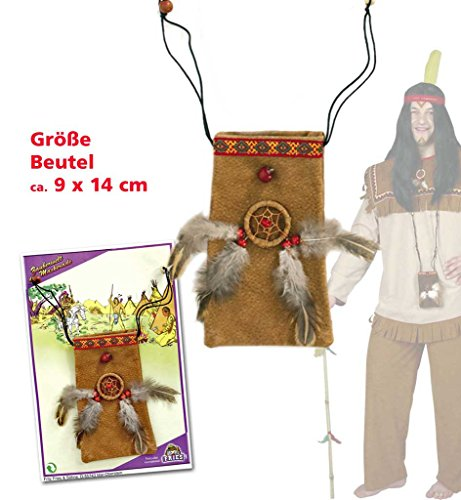 Medizin-Beutel Indianer Beutel