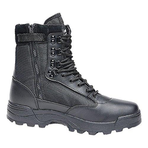 Brandit Boots Tactical Zipper schwarz Schuhgröße 47