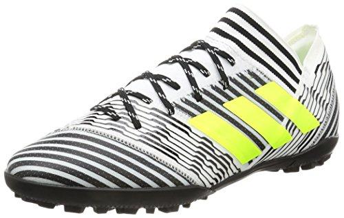 adidas adidas Herren Nemeziz Tango 17.3 TF Fußballschuhe, Mehrfarbig (FTWR White/solar Yellow/core Black), 40 2/3 EU