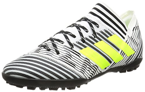 adidas Herren Nemeziz Tango TF 17.3 BB3657 Fußballschuhe, Mehrfarbig (FTWR White/solar Yellow/core Black), 46 EU