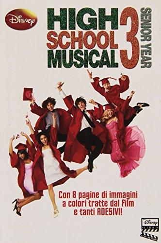 High School Musical 3. Con adesivi