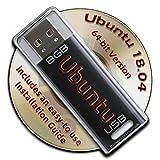 Ubuntu Linux 17.10 on a Bootable 8GB USB Flash Drive - 64-bit Version