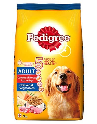 Pedigree Adult Dry Dog Food, Chicken & Vegetables, 3kg...