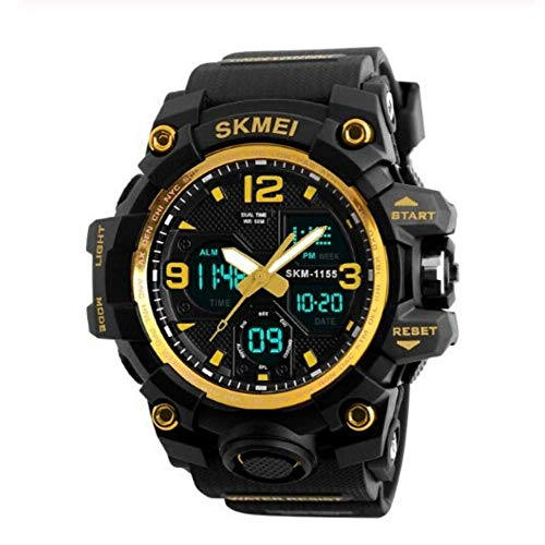 Relógios Masculinos Digital Esport Prova D' Água Skmei 1155 Preto