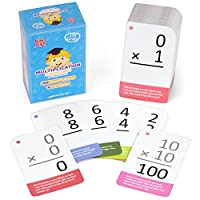 [Pint-Size Scholars]Pint-Size Scholars SelfChecking Multiplication Flashcards with Word Problems, All Facts 012 by [並行輸入品]