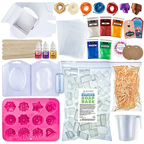 ALEXES Soap Making Kit - Make Your Own...