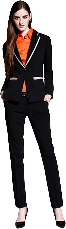 P&G Women's SingleBreasted Suit Two Pieces NotchLapel Formal Dress Tuxedo Set