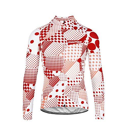 Uglyfrog Bike Wear Mujers Invierno Ciclismo Maillots Chaqueta de Ciclismo Térmico Respirable Cómodo Manga Larga
