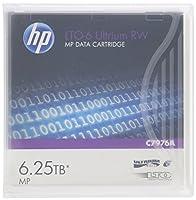 HP LTO 6 RW Ultrium C7976A (2.5/6.25 TB) データカートリッジ 10本セット