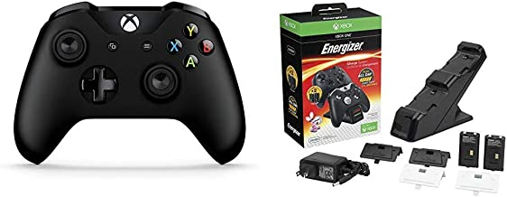 Xbox Wireless Controller - Black Bundle with PDP...